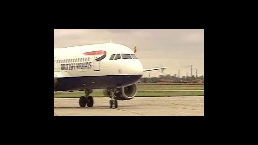 Video Stávka britských aerolinek