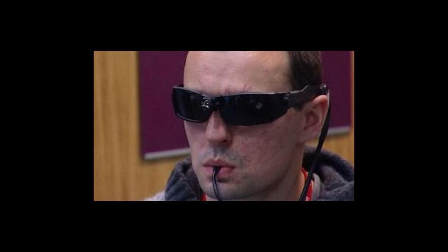 Video BrainPort je další možnsotí, jak slepí mohou opět vidět
