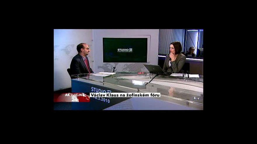 Video Rozhovor s politologem Michalem Klímou