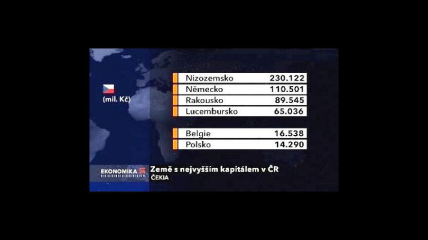 Video Největšími cizími vlastníky v Česku jsou Nizozemci