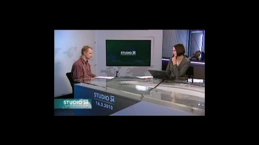 Video Studio ČT24 o situaci v Izraeli