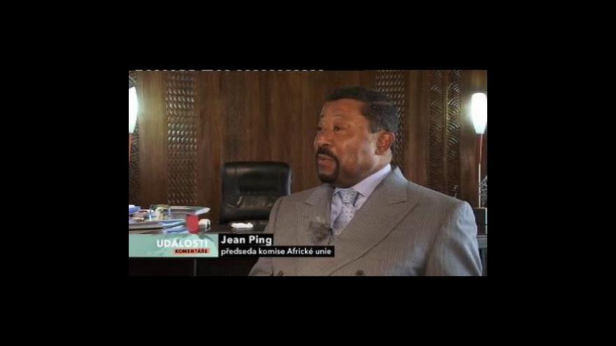 Video Rozhovor s předsedou komise Africké unie J. Pingem