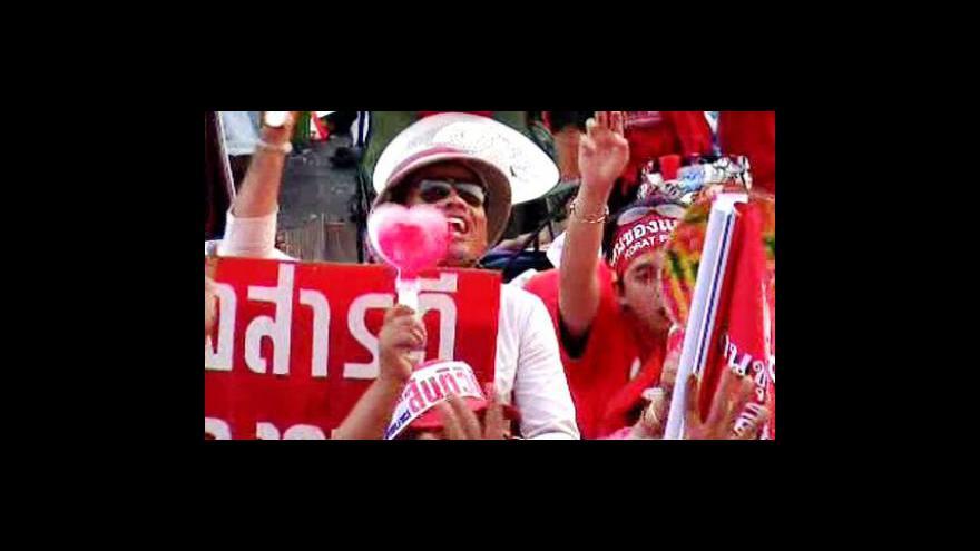 Video Tomáš Etzler a Jan Bečka k demonstracím v Thajsku