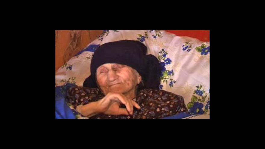 Video Nejstarší žena světa - 129letá Gruzínka