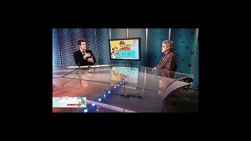 Video Jindřich Kitzberger a Václav Mertin v Událostech, komentářích