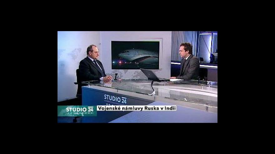 Video Studio ČT24 k rusko-indické vojenské spolupráci