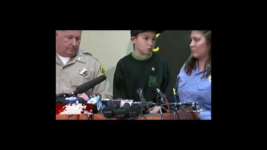 Video Sedmiletý chlapec hrdinou