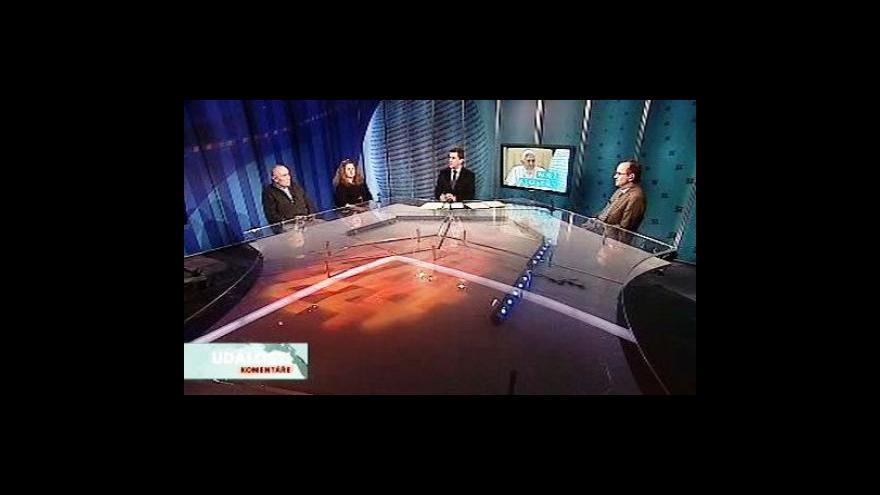 Video Albert-Peter Rethmann, Jana Šilerová a Antonín Brzek v Událostech, komentářích