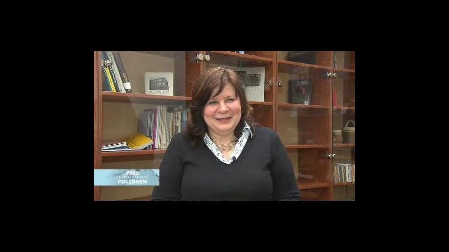Video Předsedkyně odborné poroty J. Čeňková o letošních nominacích