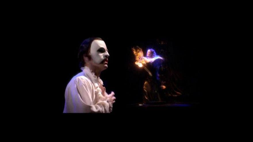 Video Fantom opery - Láska nikdy neumírá