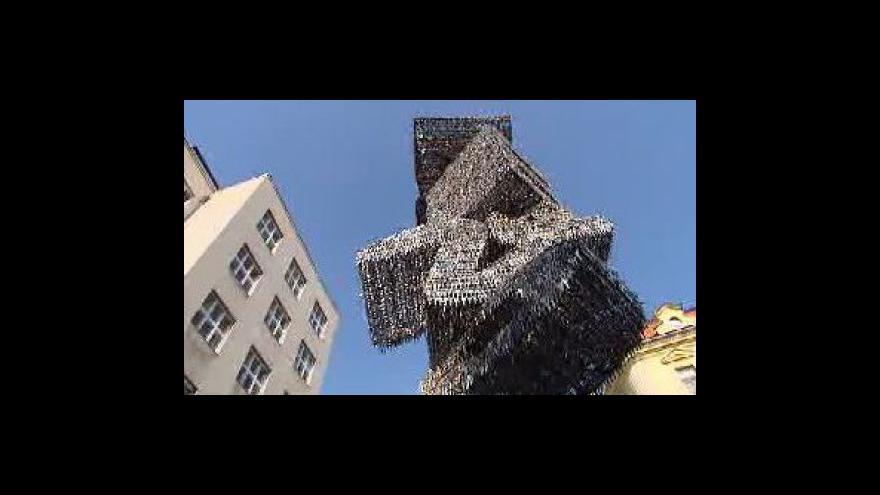 Video Petra Schubertová informuje z nám. Franze Kafky