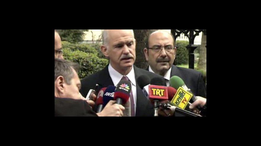 Video Řecký premiér se sejde s Obamou