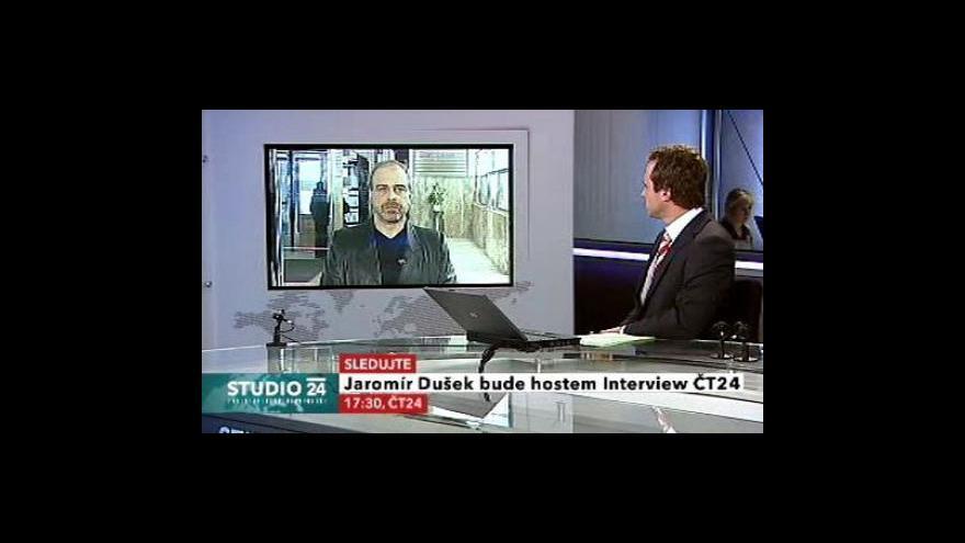Video Studio ČT24 s Jaromírem Duškem a Lubošem Pomajbíkem
