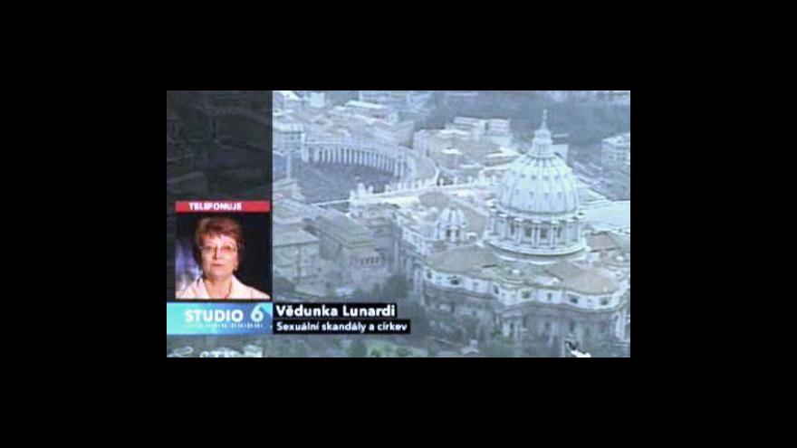 Video Vědunka Lunardi a Ivan Odilo Štampach ve Studiu 6