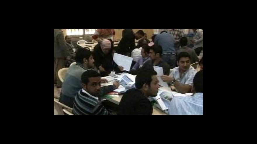 Video Předvolební násilí v Iráku