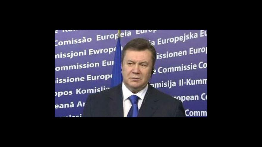 Video Janukovyč navštíví Moskvu