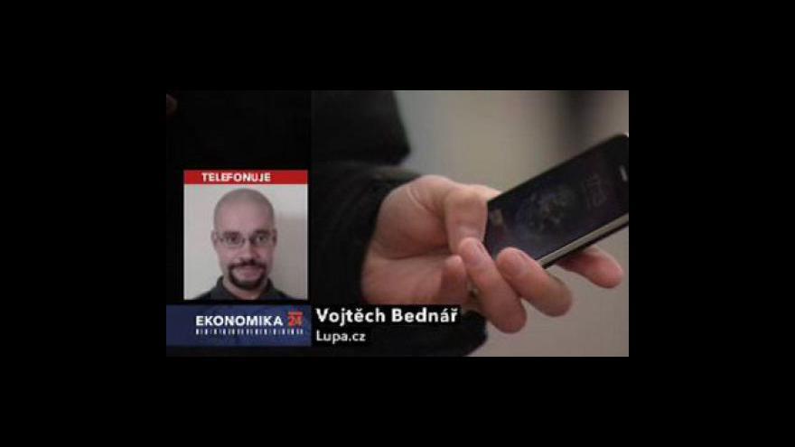 Video Ekonomika ČT24 o hrozbách mobilů