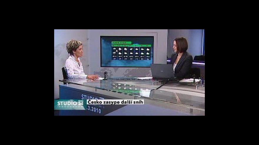 Video Rozhovor s meteoroložkou ČT Alenou Zárybnickou