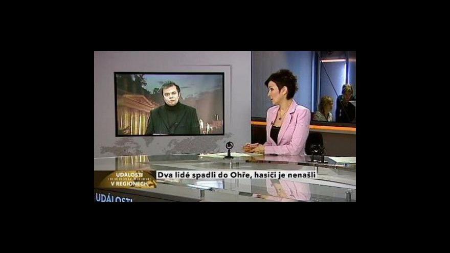 Video Živý vstup Antonína Bruštíka
