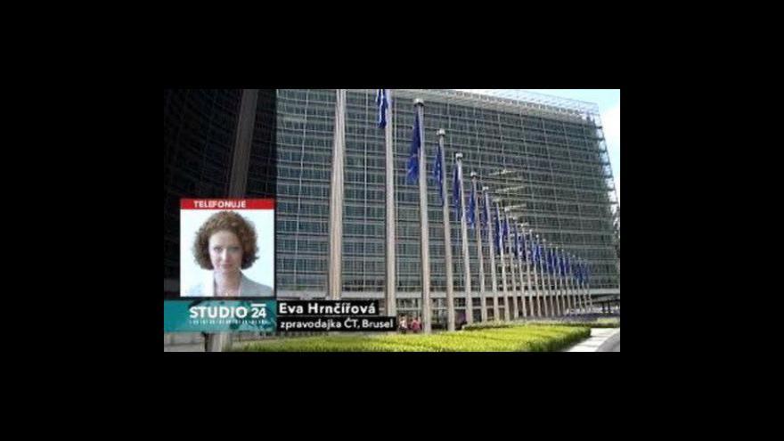 Video Telefonát Evy Hrnčířové z Bruselu