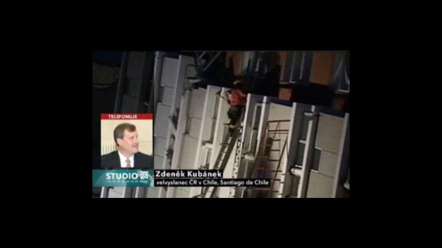 Video Rozhovor s českým velvyslancem v Chile Zdeňkem Kubánkem
