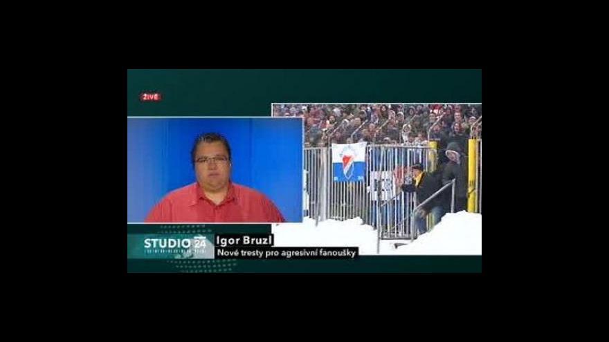 Video Studio ČT24 k zákazu vstupu na stadiony