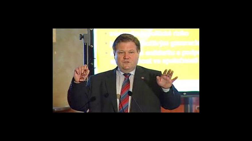 Video Seminář ČSSD k penzijní reformě