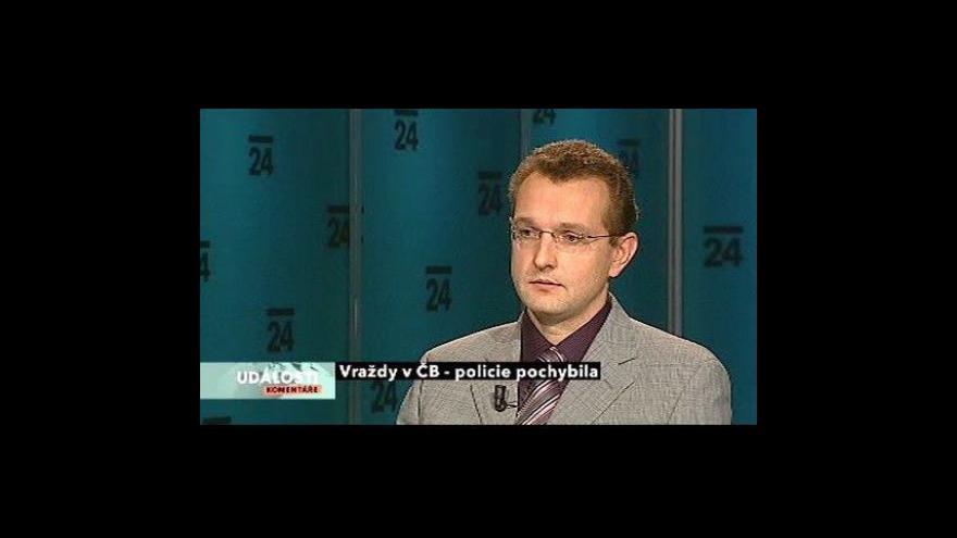 Video Rozhovor s Pavlem Ottem v Událostech, komentářích