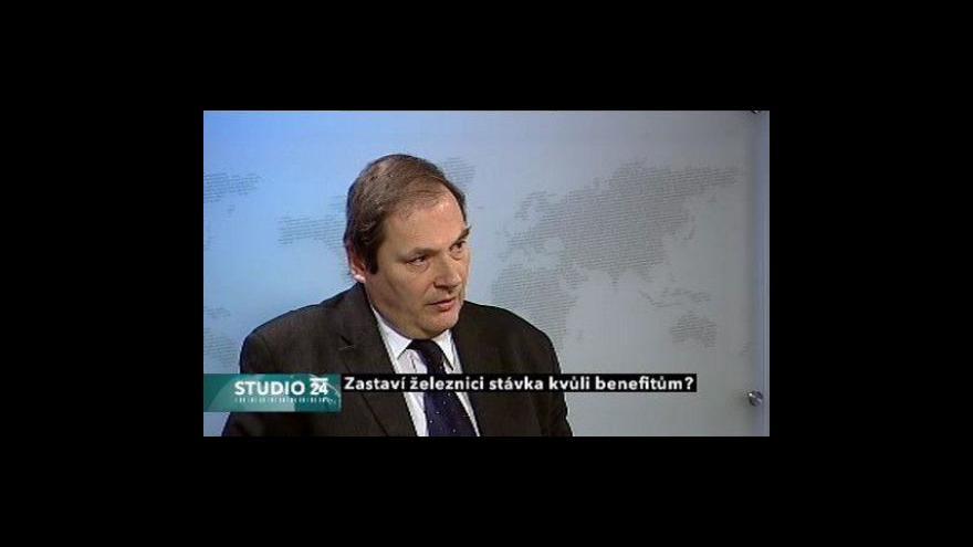 Video Jaroslav Pejša o stávce na železnici