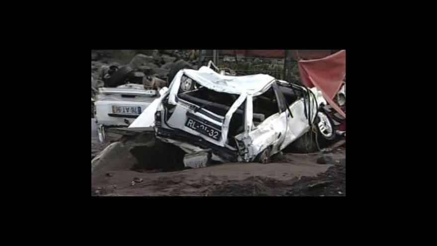 Video Madeiru zdevastovaly povodně