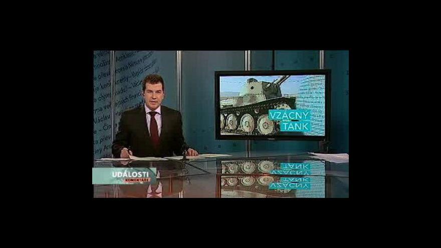 Video Události, komentáře o tanku LTP 38