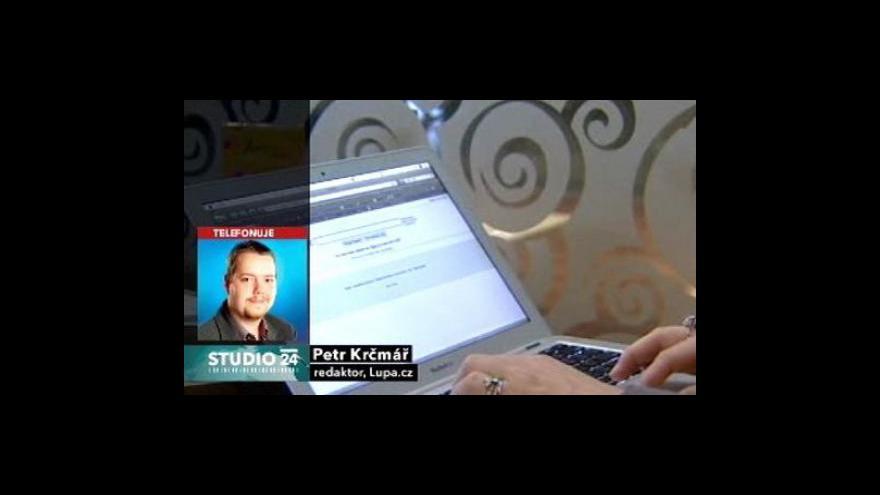 Video Studio ČT24 s Petrem Krčmářem