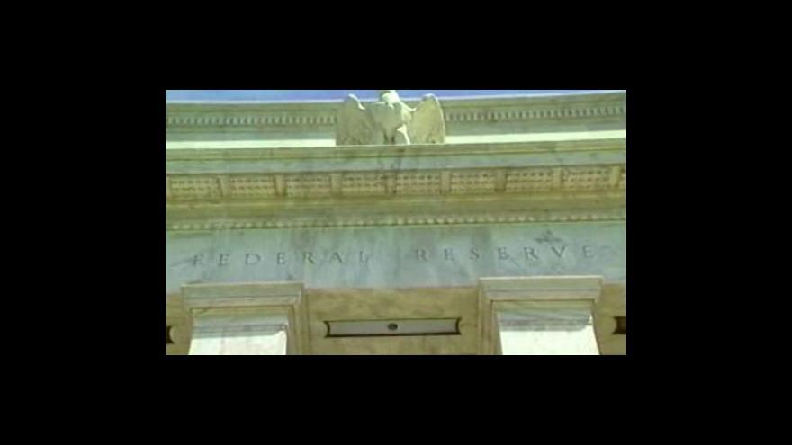 Video Fed zvýšil diskontní sazbu na 0,75 procent