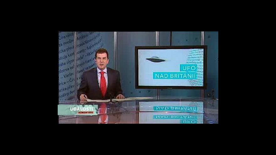 Video Události, komentáře o UFO