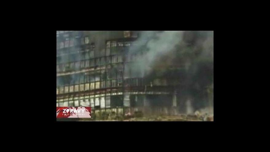 Video Nehoda letadla v Texasu