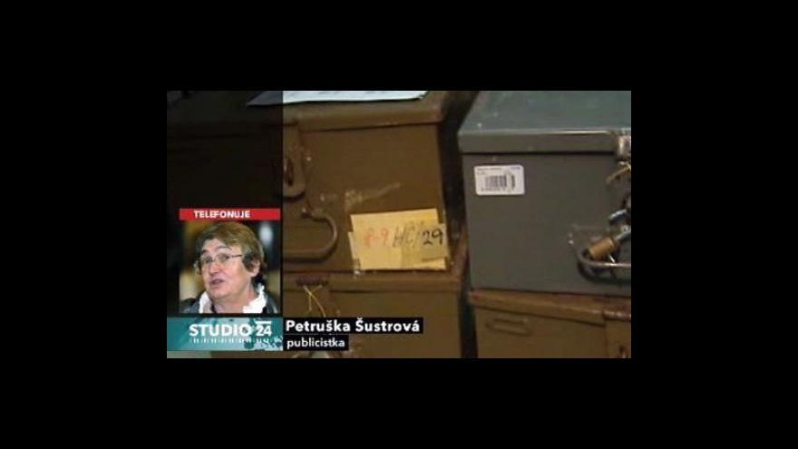 Video Studio ČT24 - nový ředitel ÚSTR