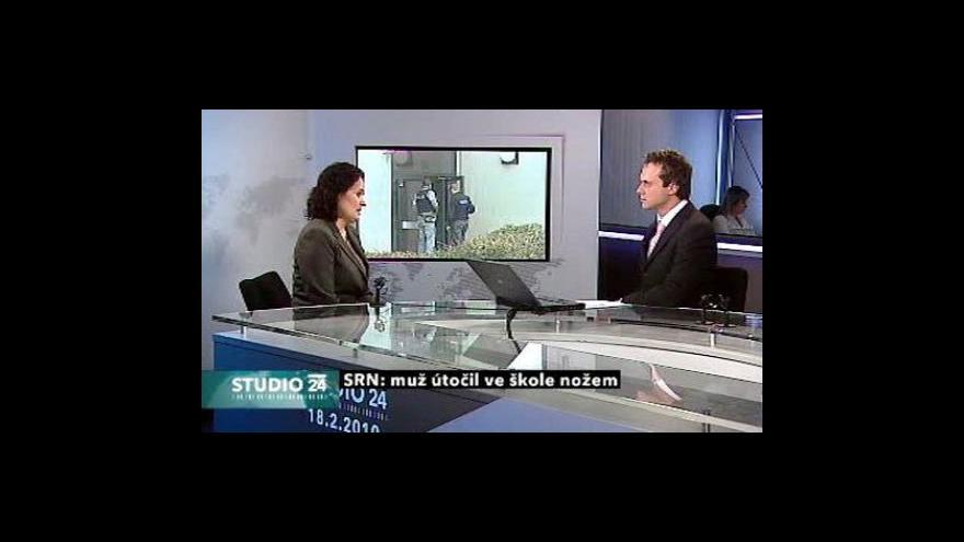 Video Studio ČT24 k útoku v Ludwigshafenu