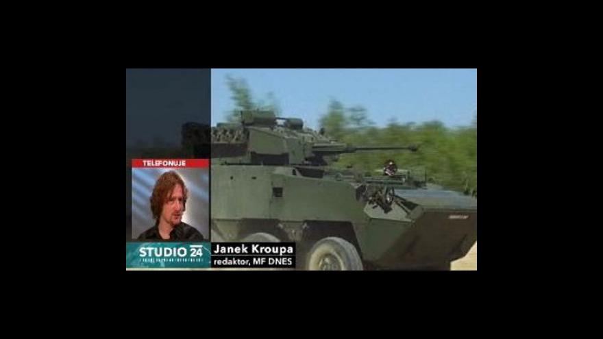 Video Studio ČT24 o kauze pandury