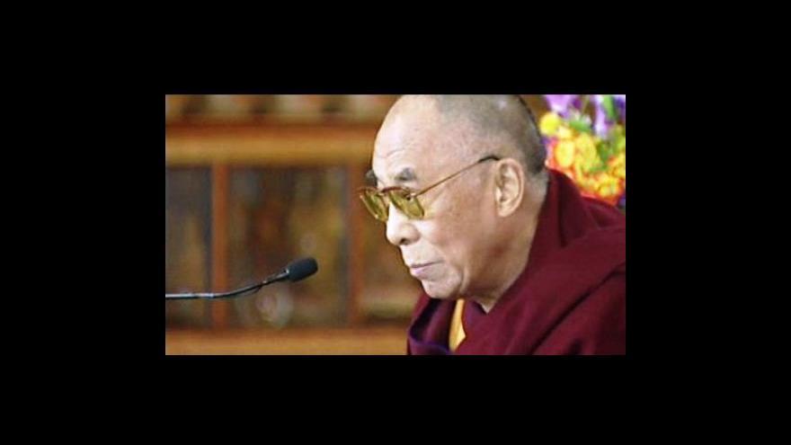 Video Jakub Lepš a Ivana Gášková k dalajlamově schůzce s Obamou