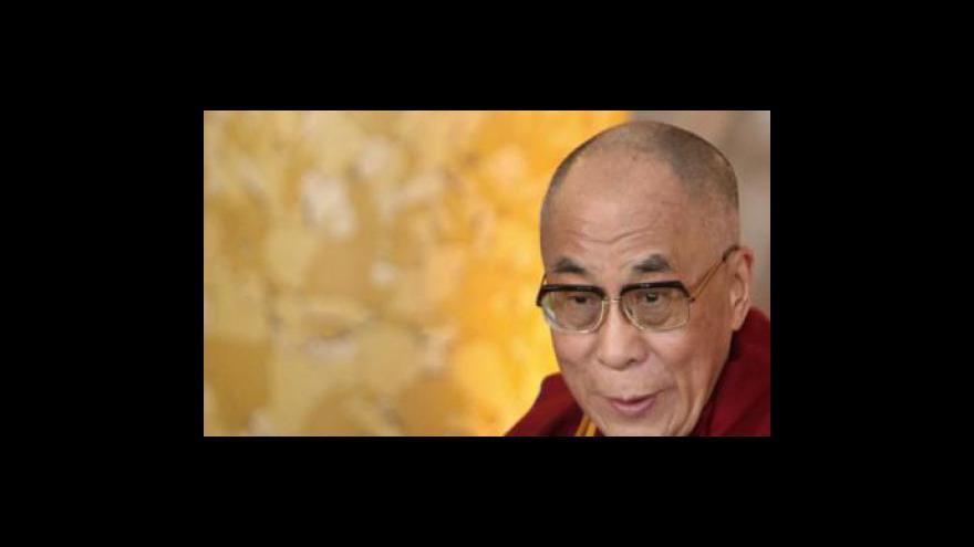 Video Studio ČT24 ke schůzce Obamy s dalajlamou