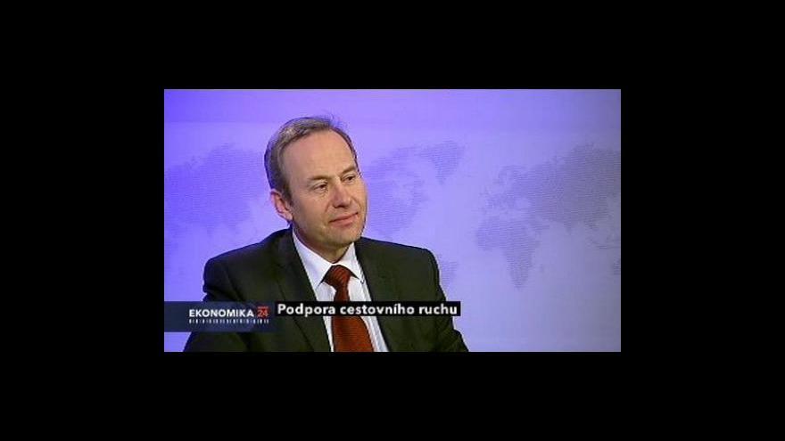 Video Ekonomika ČT24: Podpora cestovního ruchu