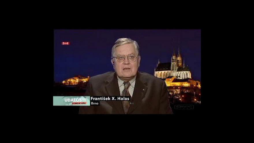 Video Události, komentáře k průzkumům v kostele sv. Haštala