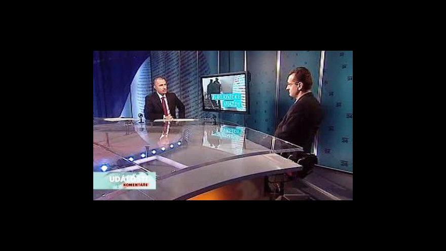 Video Roman Svatoš a Jiří Matzner v Událostech, komentářích