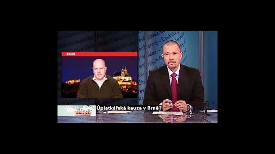 Video Karel Škrabal a Petr Nečas v Událostech, komentářích