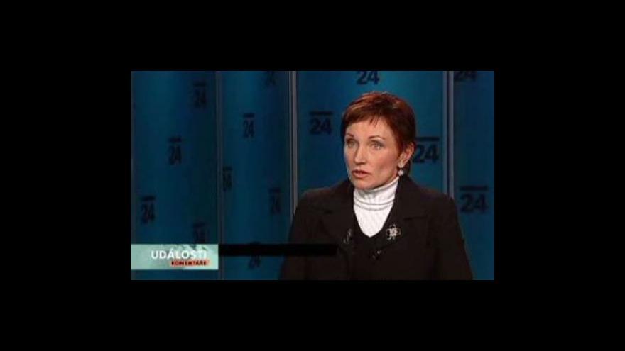 Video Události, komentáře s Danou Juráskovou