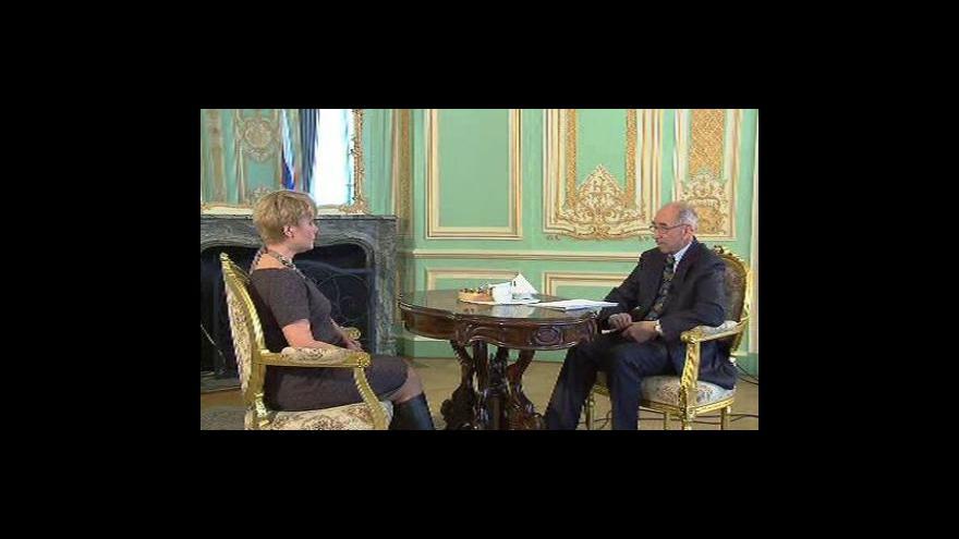 Video Gagarinova dcera na návštěvě Prahy