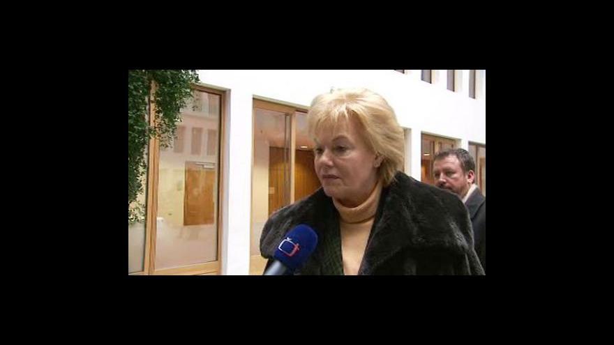 Video Steinbachová se nebude ucházet o místo v nadační radě