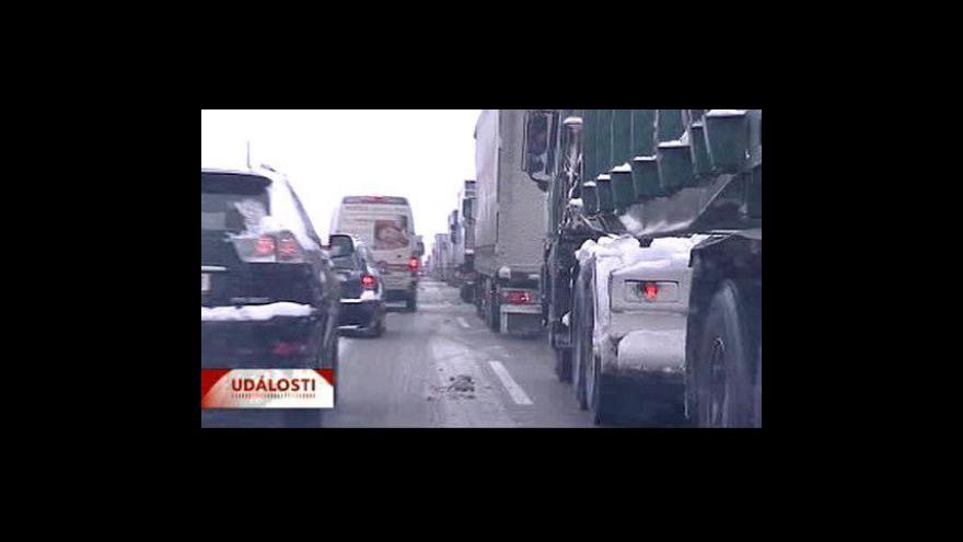 Video Česko opět zasypal sníh