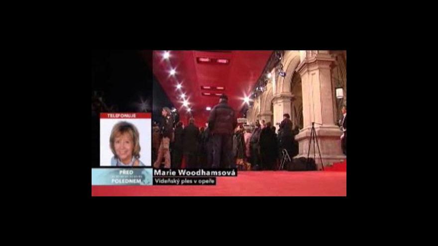 Video Před polednem o plesu v opeře