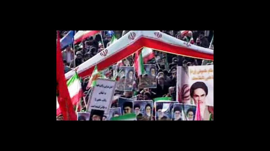 Video Írán slaví výročí revoluce